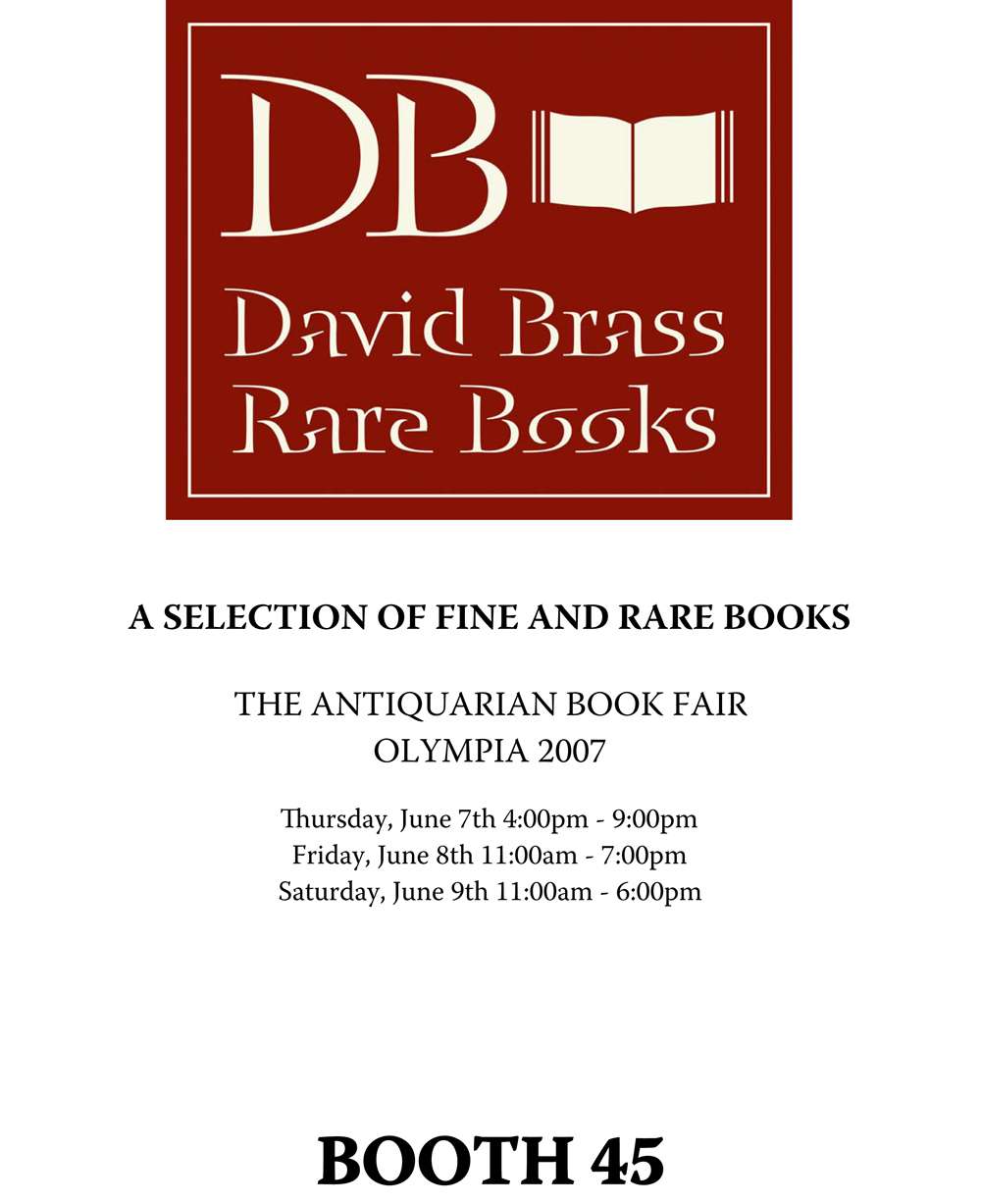 2007 London Antiquarian Book Fair