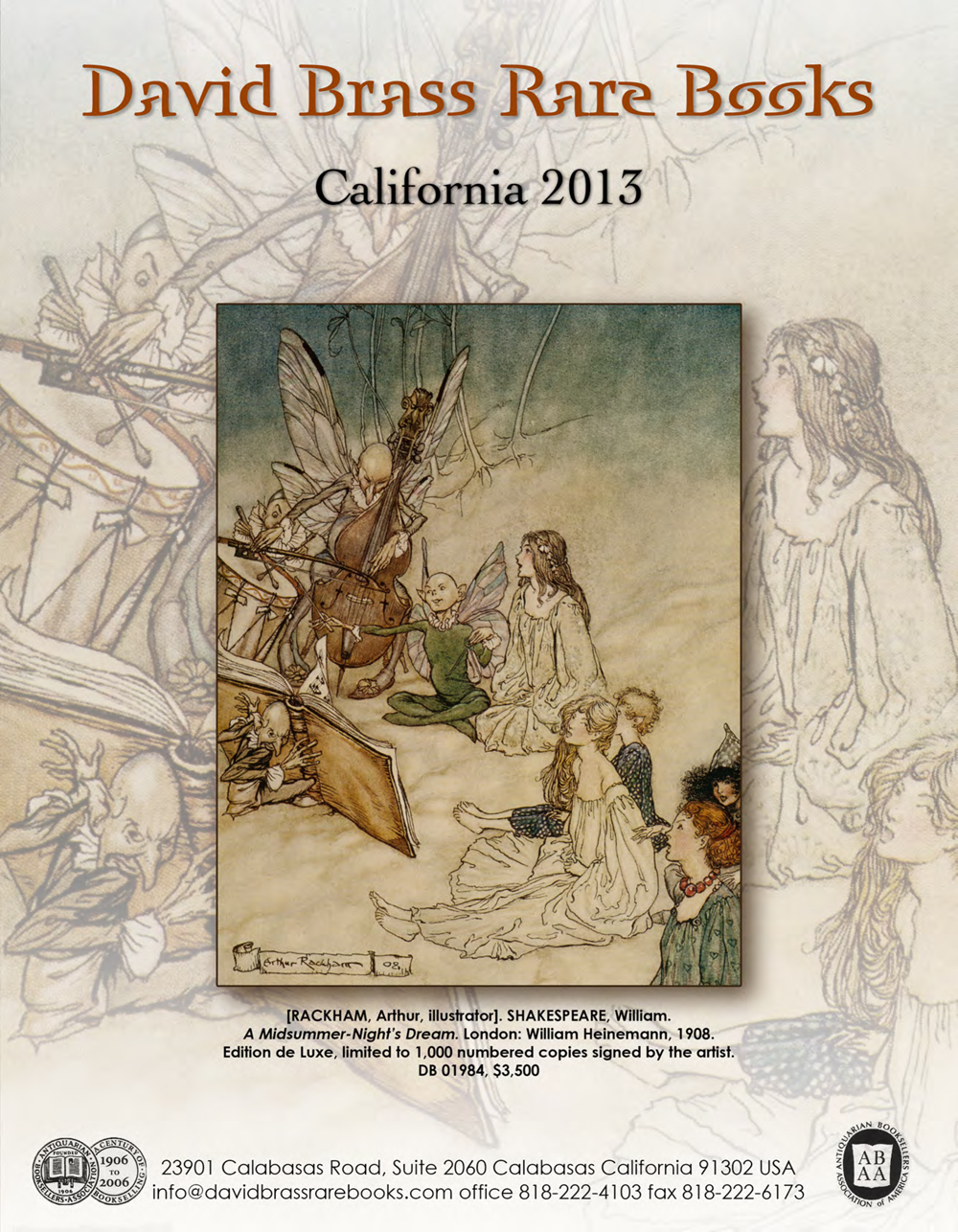 2013 California Antiquarian Book Fair