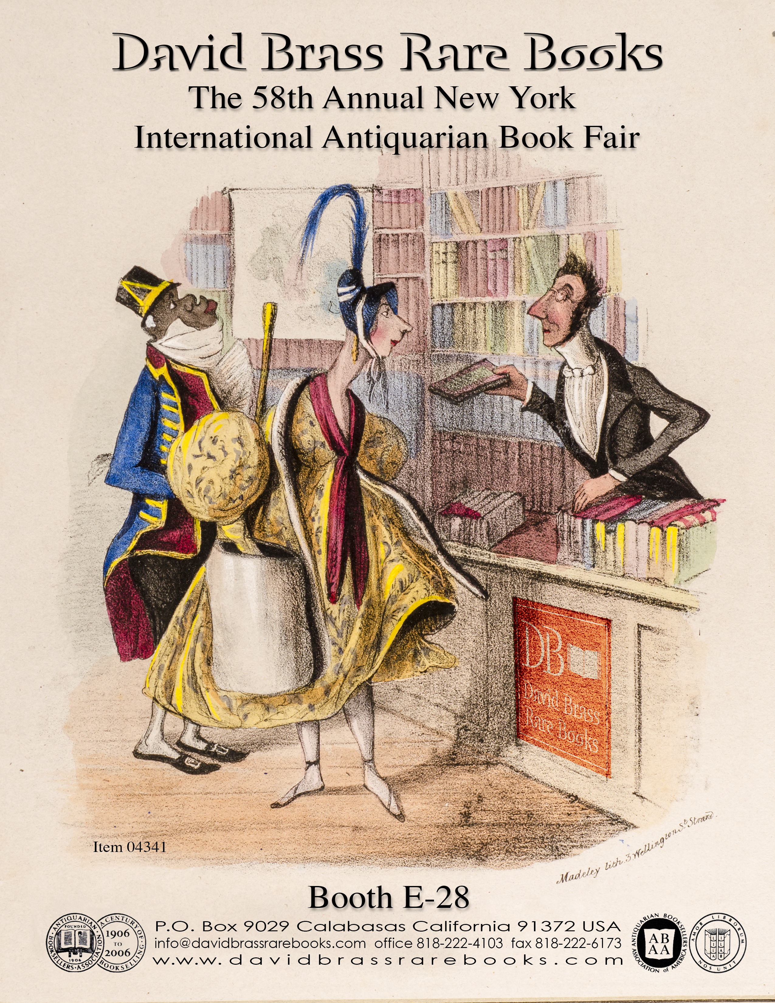 2018 New York Antiquarian Book Fair