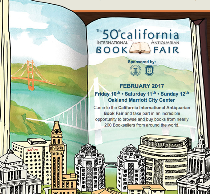 50th California International Antiquarian Book Fair