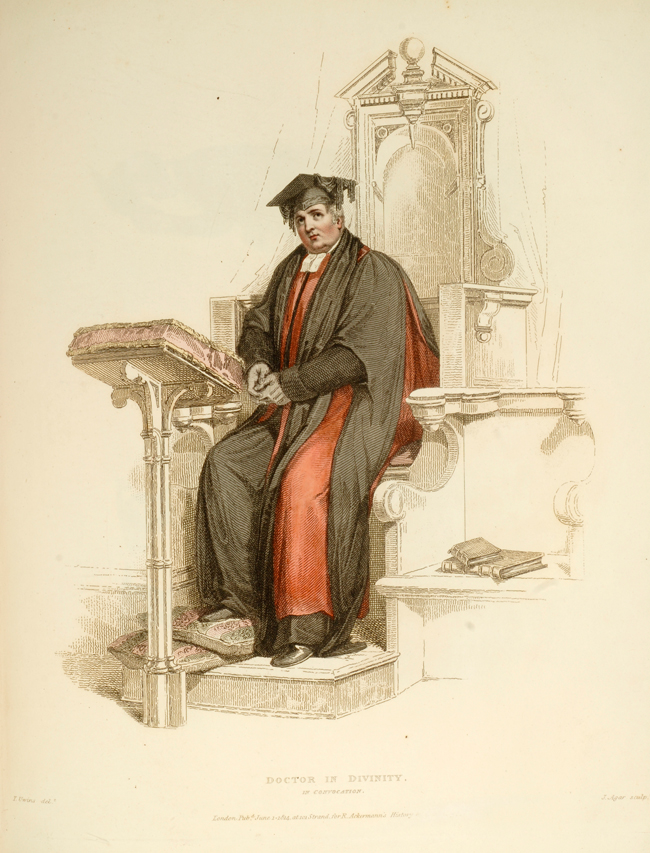 UWINS, THOMAS - Costume of the University of Oxford, the