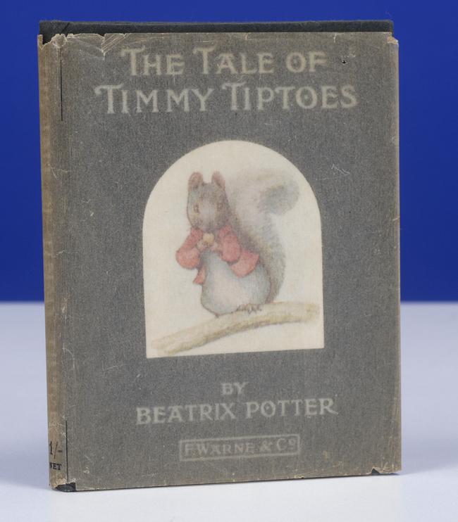 POTTER, BEATRIX - Tale of Timmy Tiptoes, the