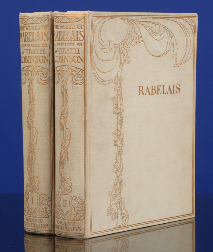 ROBINSON, W. HEATH, ILLUSTRATOR; RABELAIS, FRANÇOIS - Works of Mr. Francis Rabelais, the
