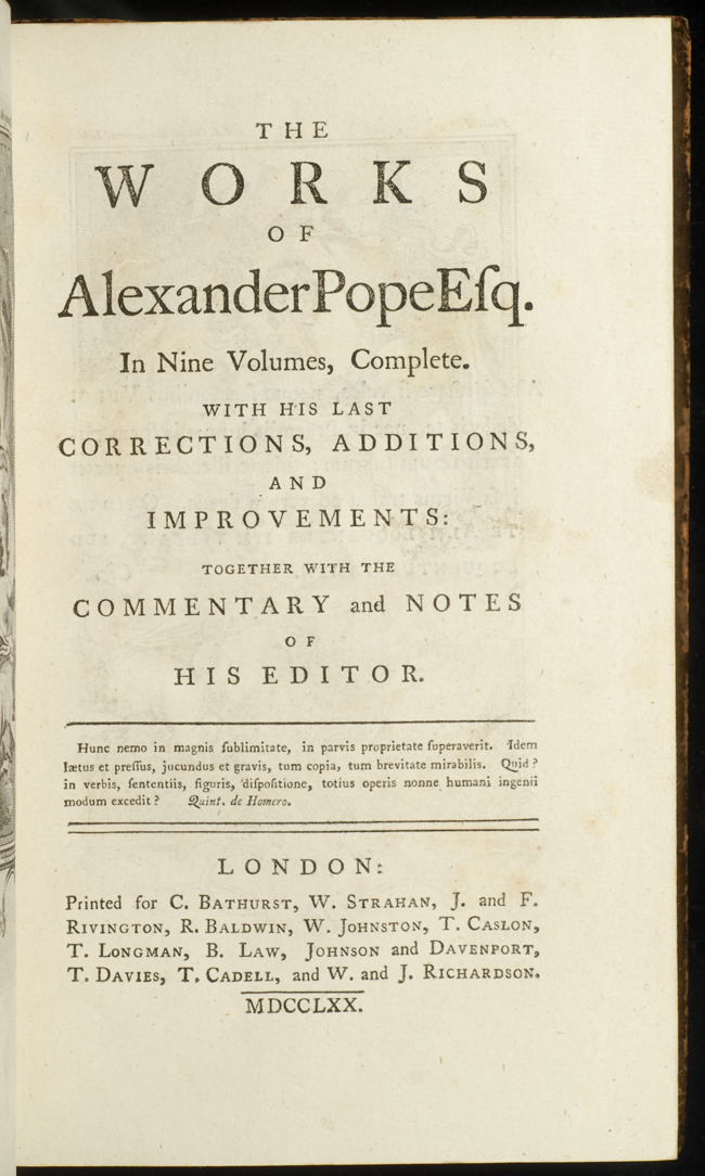 pope-an essay on man The project gutenberg ebook, essay on man, by alexander pope, edited by  henry morley this ebook is for the use of anyone anywhere at no cost and with.