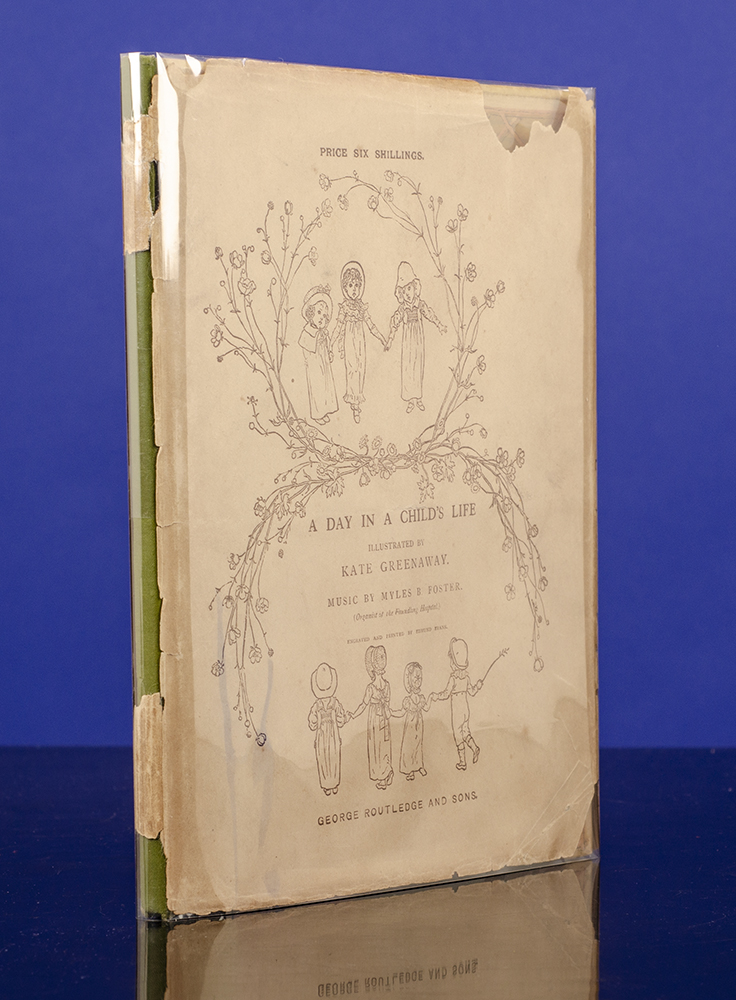 GREENAWAY, KATE, ILLUSTRATOR; FOSTER, MYLES B.; EVANS, EDMUND - Day in a Child's Life, A.