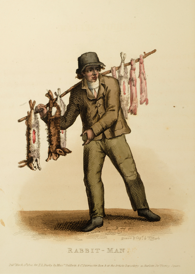 BUSBY, THOMAS LORD - Costume of the Lower Orders of London