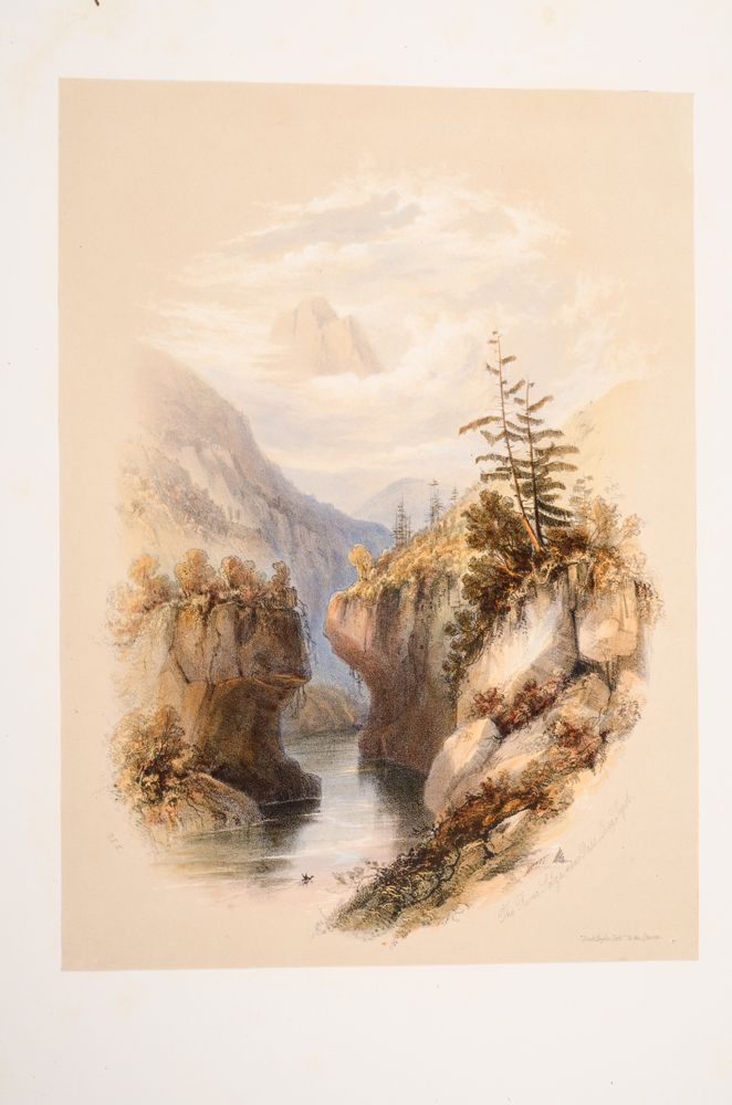 HERING, G[EORGE].E. - Mountains and the Lakes, the
