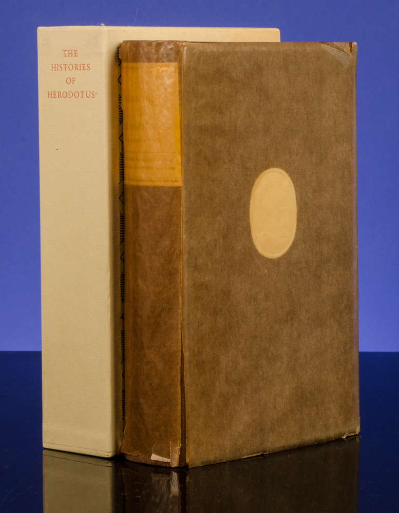 [LIMITED EDITIONS CLUB]; HERODOTUS; BAWDEN, EDWARD; CARTER, HARRY - Histories of Herodotus of Halicarnassus, the