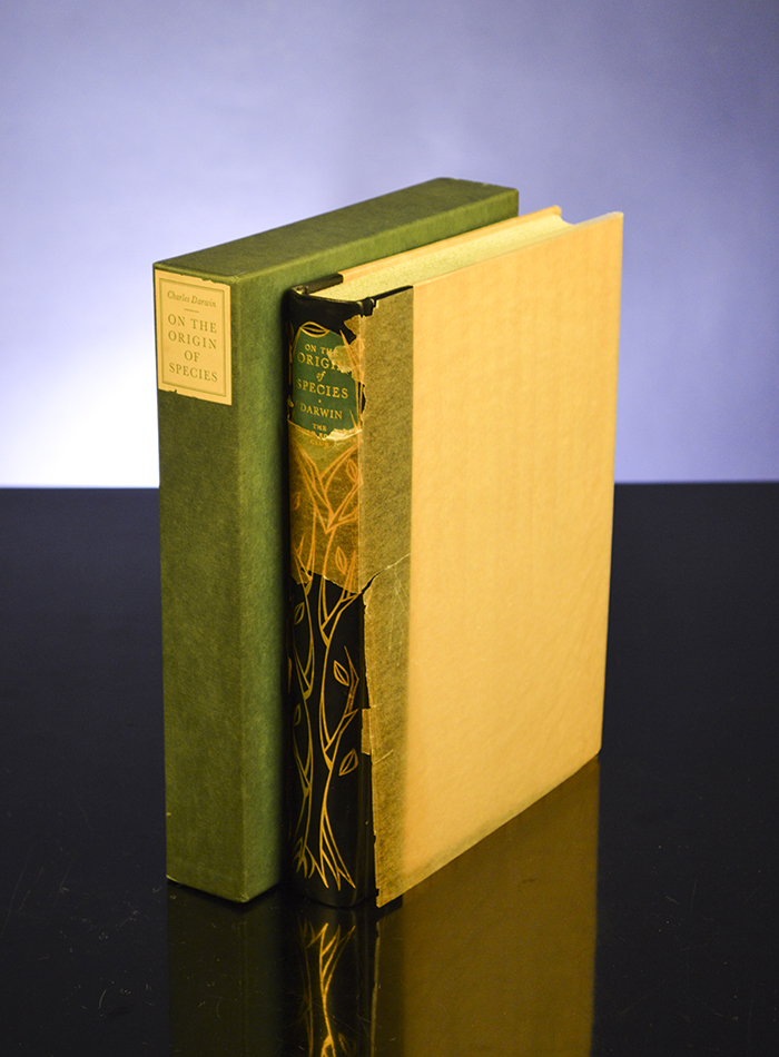 [LIMITED EDITIONS CLUB]; DARWIN, CHARLES; LANDACRE, PAUL, ILLUSTRATOR - On the Origin of Species by Natural Selection