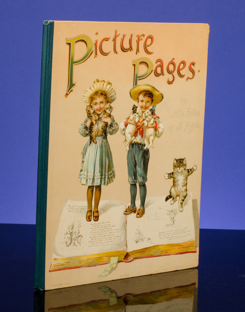 WAIN, LOUIS, ILLUSTRATOR; [WEATHERLY, FRED E.]; BINGHAM, CLIFTON - Picture Pages for Little Folks of All Ages