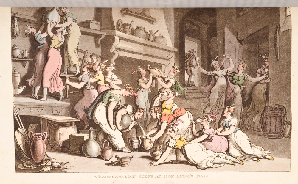 ROWLANDSON, THOMAS; ENGELBACH, LEWIS - Naples and the Campagna Felice