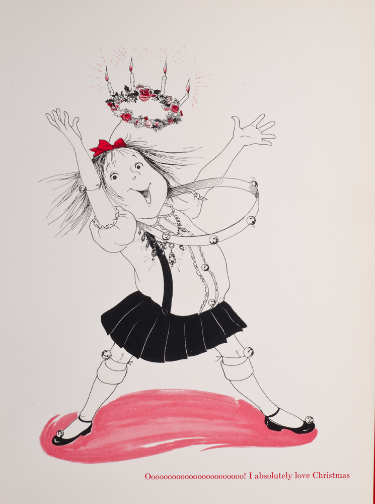 Eloise at Christmastime | Hilary KNIGHT, illustrator, Kay THOMPSON