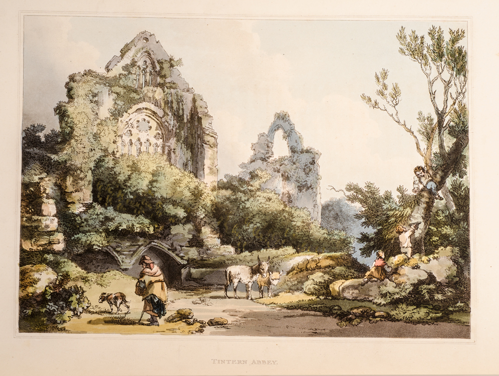 LOUTHERBOURG, PHILIPP JAKOB DE - Romantic and Picturesque Scenery of England and Wales, the