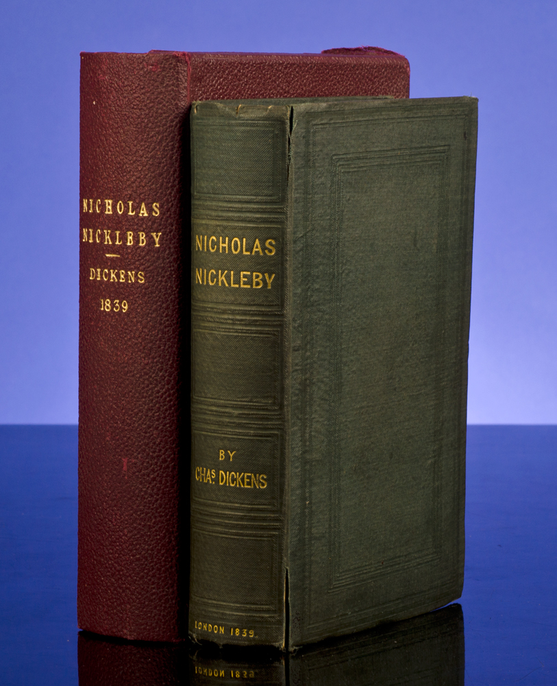 DICKENS, CHARLES - Life and Adventures of Nicholas Nickleby, the