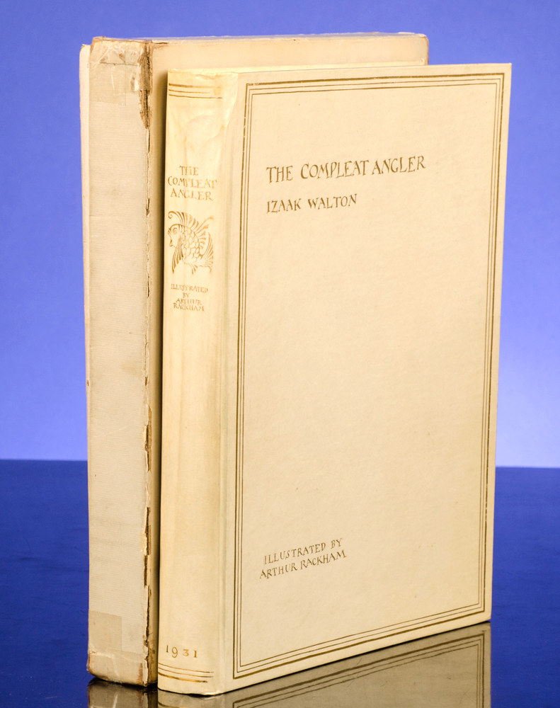 RACKHAM, ARTHUR; WALTON, IZAAK - Compleat Angler or the Contemplative Man's Recreation, the