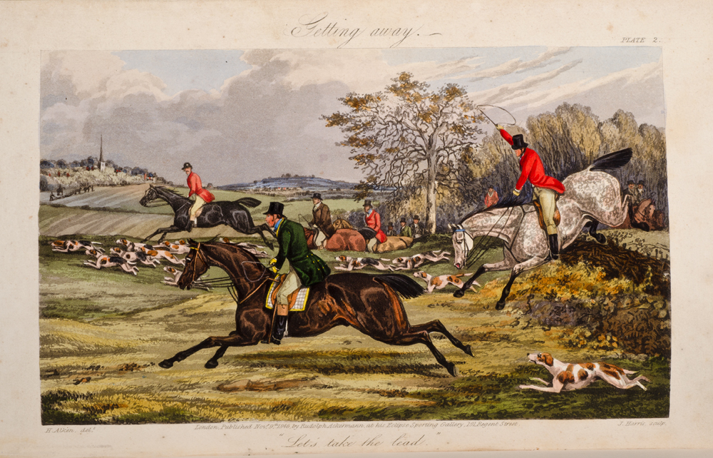 ALKEN, HENRY; SURTEES, ROBERT S. - Analysis of the Hunting Field, the