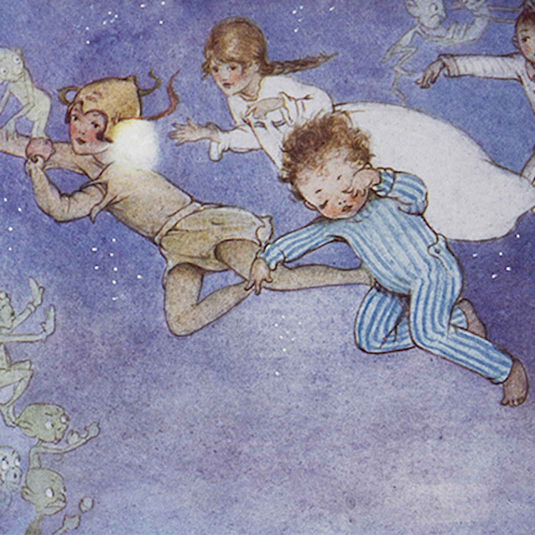 Mabel Lucie ATTWELL, J. M. BARRIE. Peter Pan and Wendy