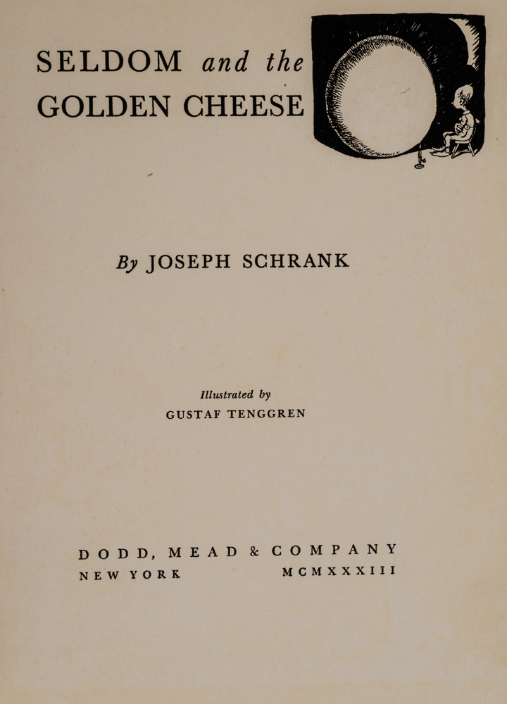 Seldom And The Golden Cheese
