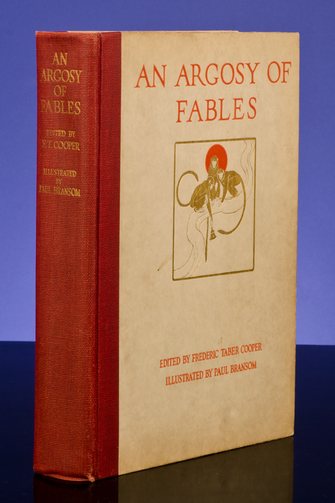 BRANSOM, PAUL; COOPER, FREDERIC TABER - An Argosy of Fables