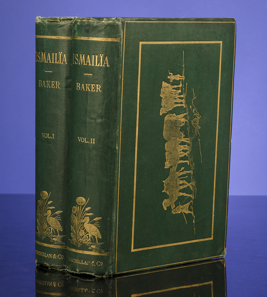 BAKER, SIR SAMUEL W. - Ismailïa: A Narrative of the Expedition to Central Africa for the Suppression of the Slave Trade