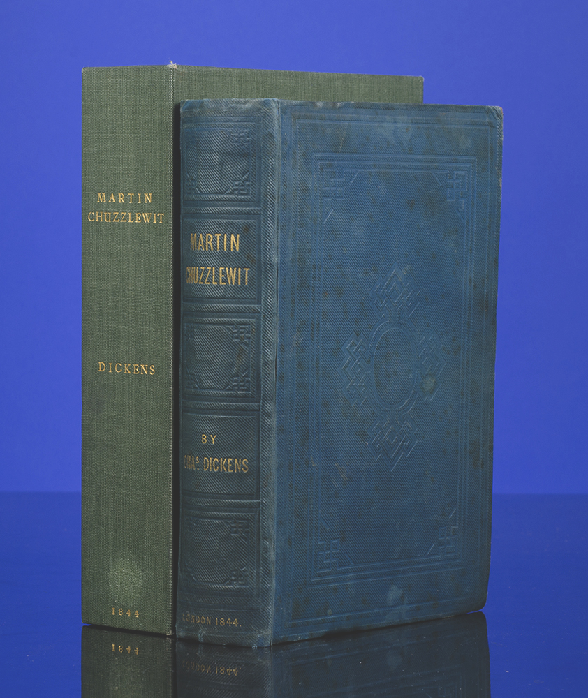 DICKENS, CHARLES; BROWNE, H.K. - Life and Adventures of Martin Chuzzlewit, the