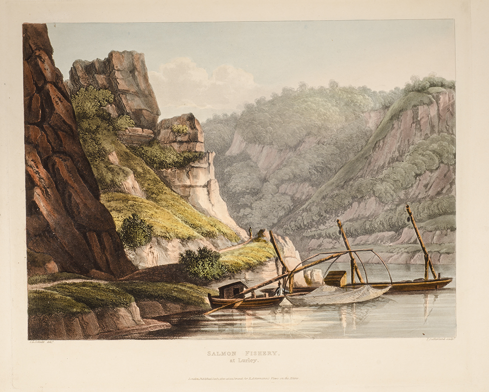 GERNING, J.J. [JOHANN ISAAC] VON - Picturesque Tour Along the Rhine, from Mentz to Cologne... , A.