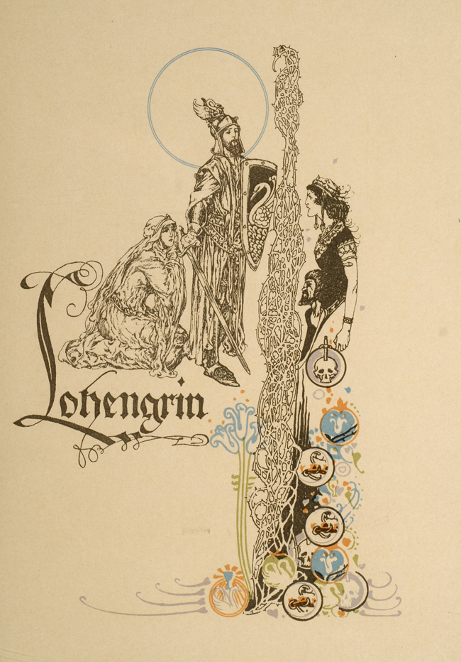 POGANY, WILLY; ROLLESTON, T.W.; WAGNER, RICHARD - Tale of Lohengrin, the