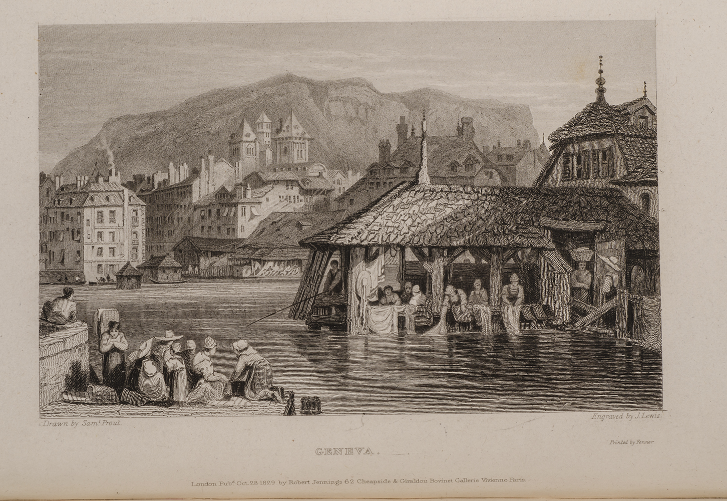 ROSCOE, THOMAS; PROUT, SAMUEL, ILLUSTRATOR; WESTLEY, F., BINDER - Tourist in Switzerland and Italy, the