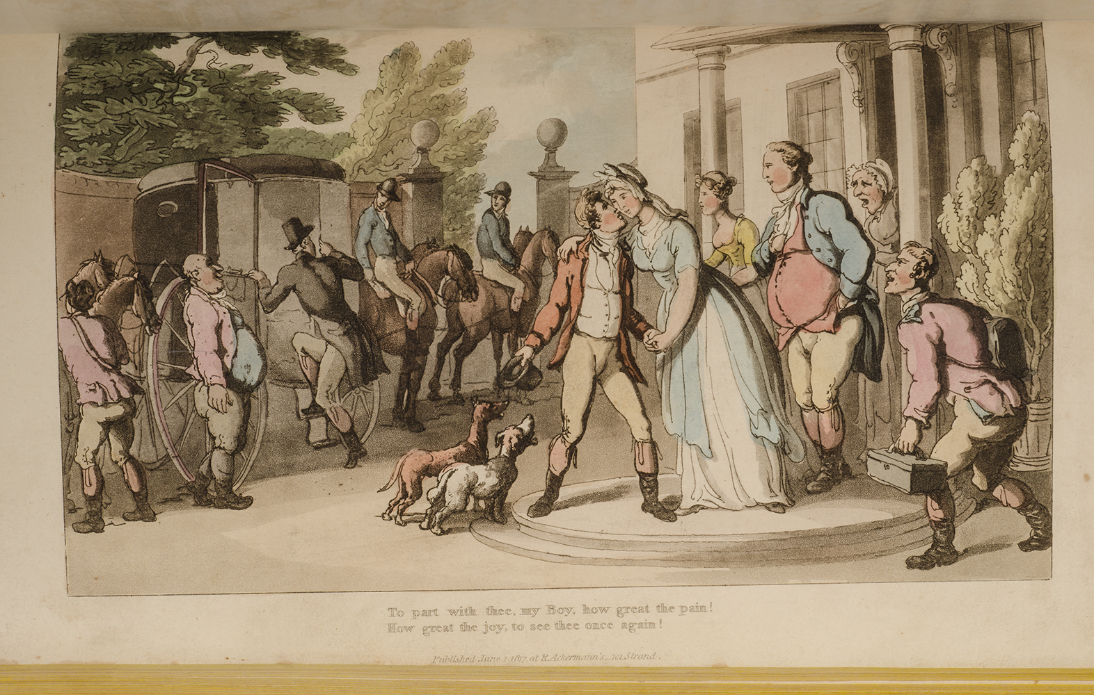 ROWLANDSON, THOMAS; COMBE, WILLIAM - Dance of Life, the