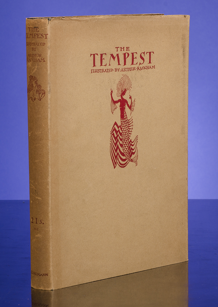 RACKHAM, ARTHUR, ILLUSTRATOR; SHAKESPEARE, WILLIAM - Tempest, the
