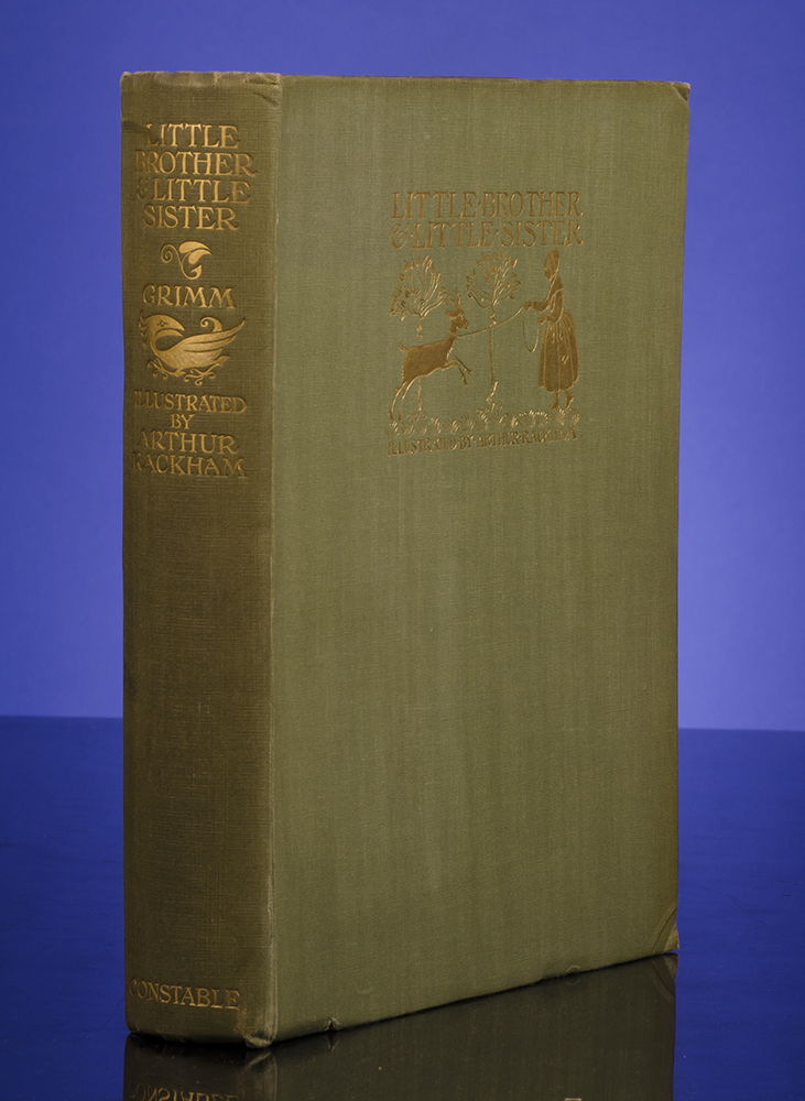 RACKHAM, ARTHUR; GRIMM, JAKOB AND WILHELM - Little Brother & Little Sister and Other Tales by the Brothers Grimm