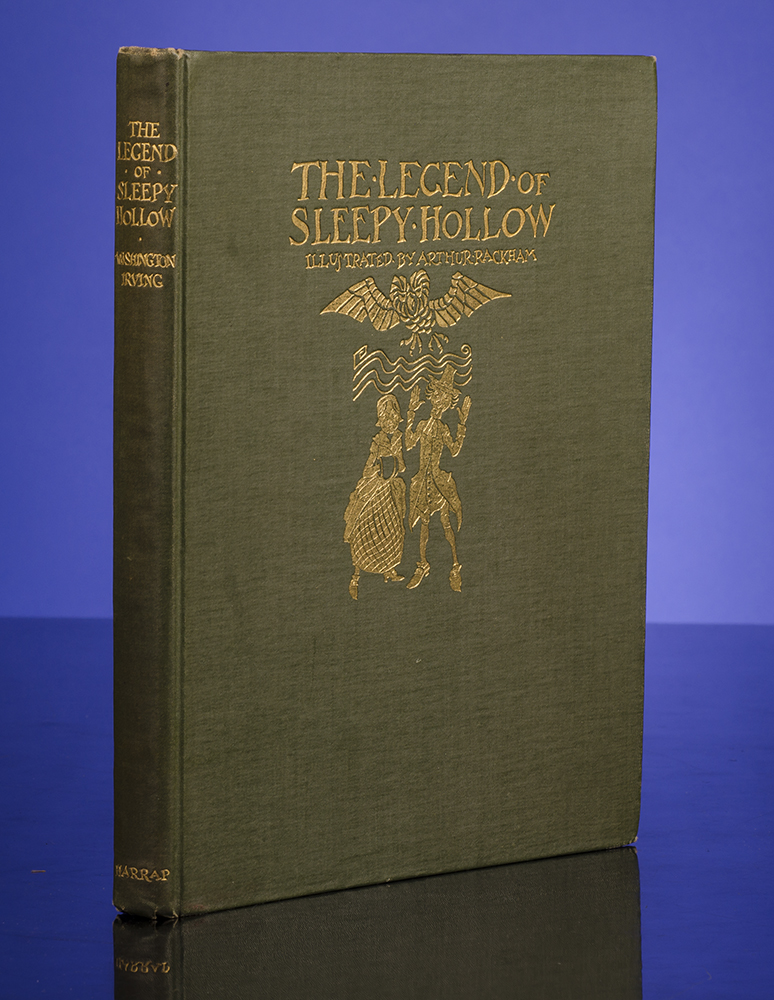 RACKHAM, ARTHUR, ILLUSTRATOR; IRVING, WASHINGTON - Legend of Sleepy Hollow, the