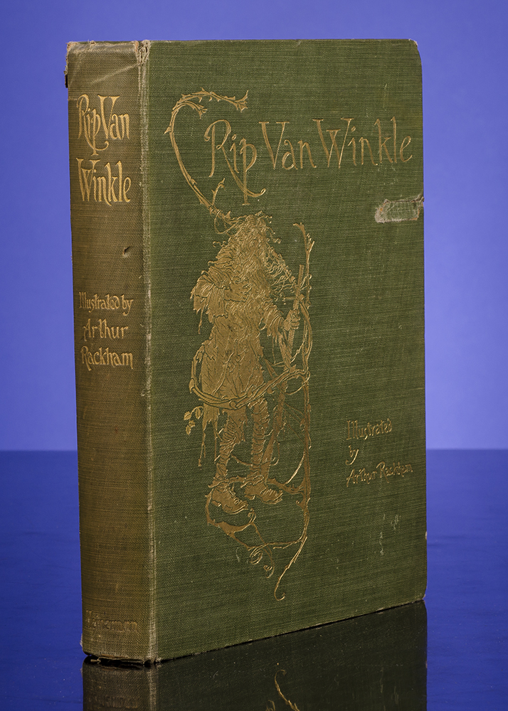 RACKHAM, ARTHUR, ILLUSTRATOR; IRVING, WASHINGTON - Rip Van Winkle