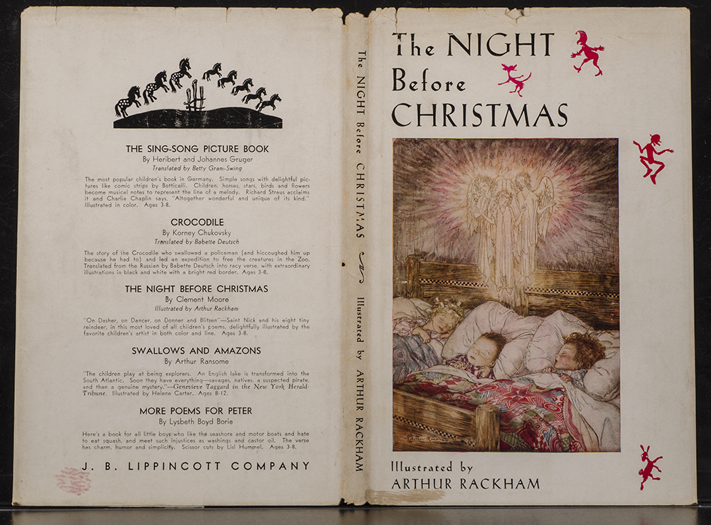 The Christmas Books Moore Clement C The Night Before Christmas