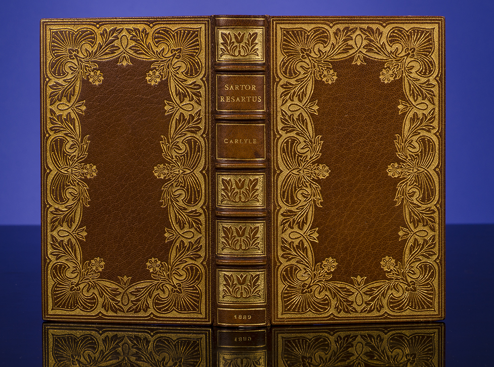 RIVIÈRE & SON, BINDERS; CARLYLE, THOMAS - Sartor Resartus: The Life and Opinions of Herr Teufelsdröckh