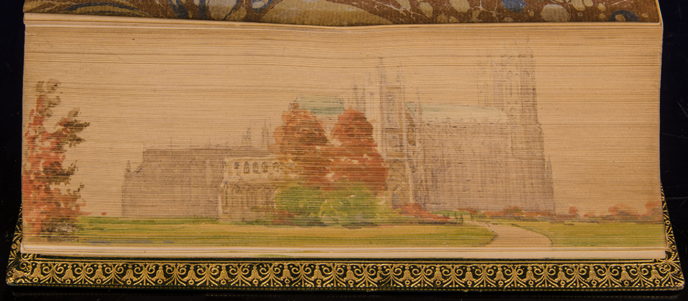 FORE-EDGE PAINTING; STANLEY, ARTHUR PENRHYN - Historical Memorials of Westminster Abbey