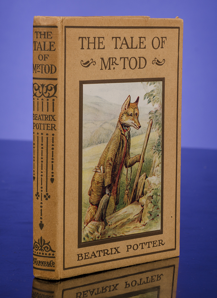 POTTER, BEATRIX - Tale of Mr. Tod, the
