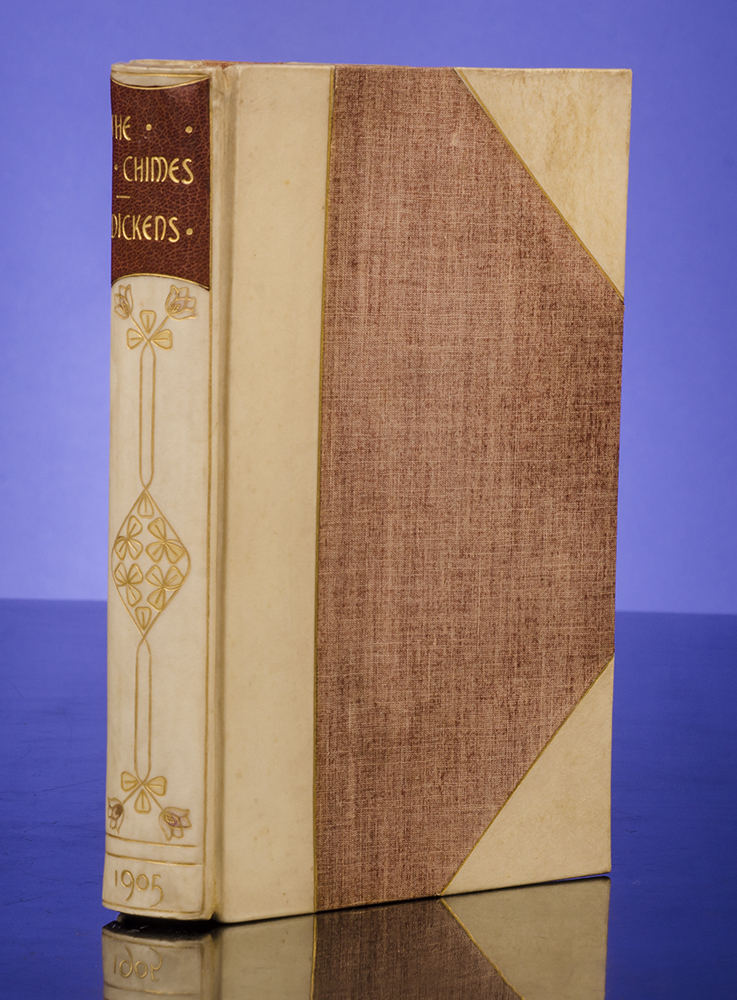 DICKENS, CHARLES; BROCK, C.E., ILLUSTRATOR; MORRELL, BINDER - Chimes, the