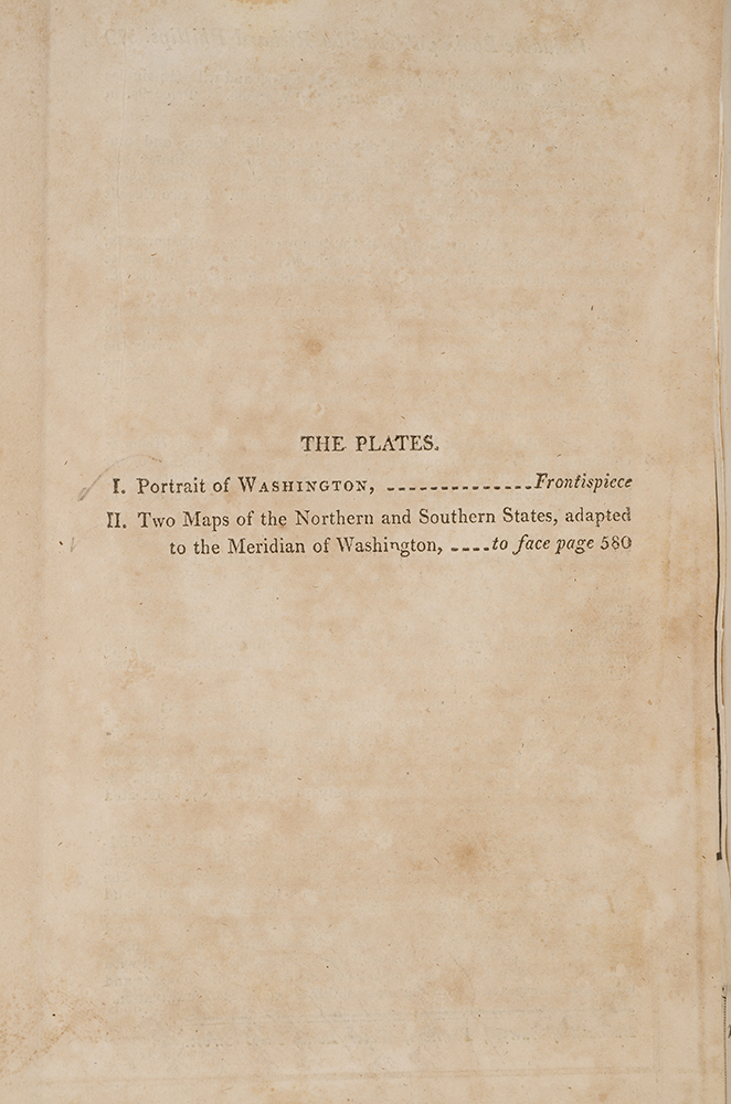 Life Of George Washington Commander In Chief Of The American - Us map during washington precedency