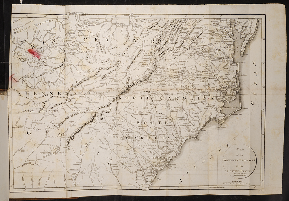 Life Of George Washington Commander In Chief Of The American - Map of us when george washington was president