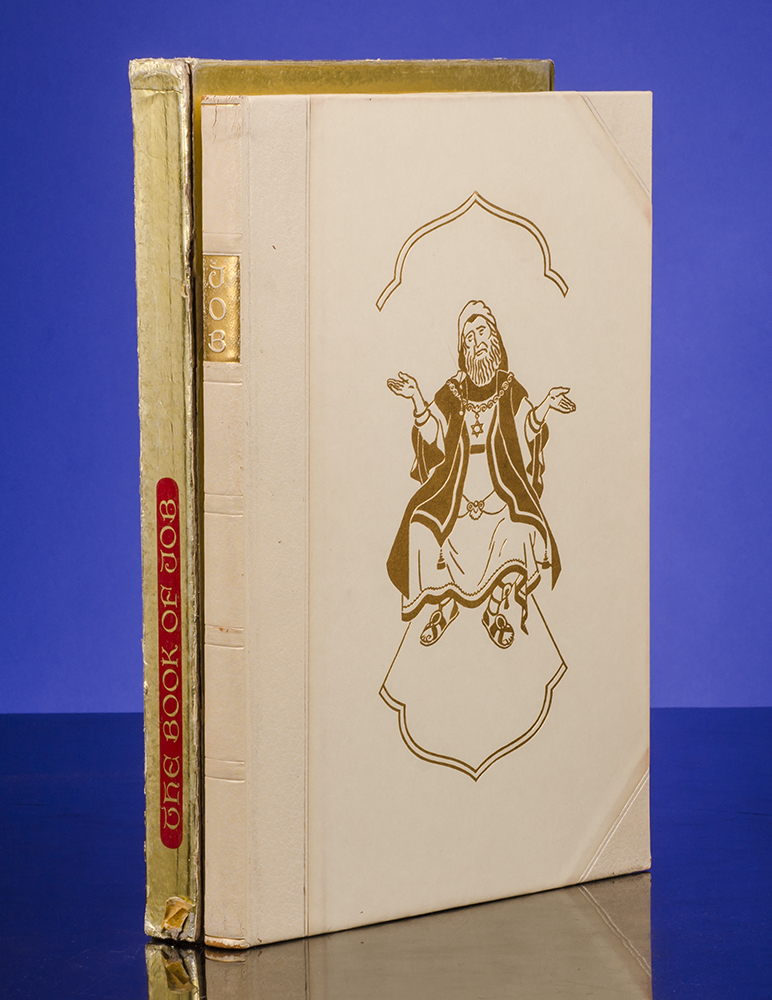 [LIMITED EDITIONS CLUB]; SZYK, ARTHUR, ILLUSTRATOR; [BIBLE IN ENGLISH] - Book of Job, the
