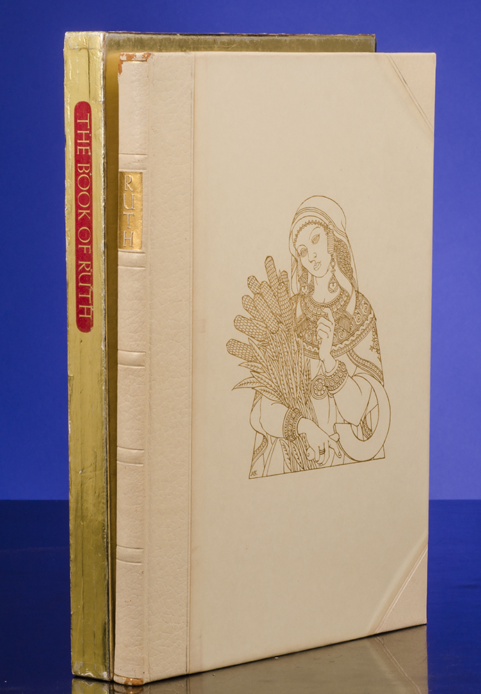 [LIMITED EDITIONS CLUB]; SZYK, ARTHUR, ILLUSTRATOR; [BIBLE IN ENGLISH] - Book of Ruth, the