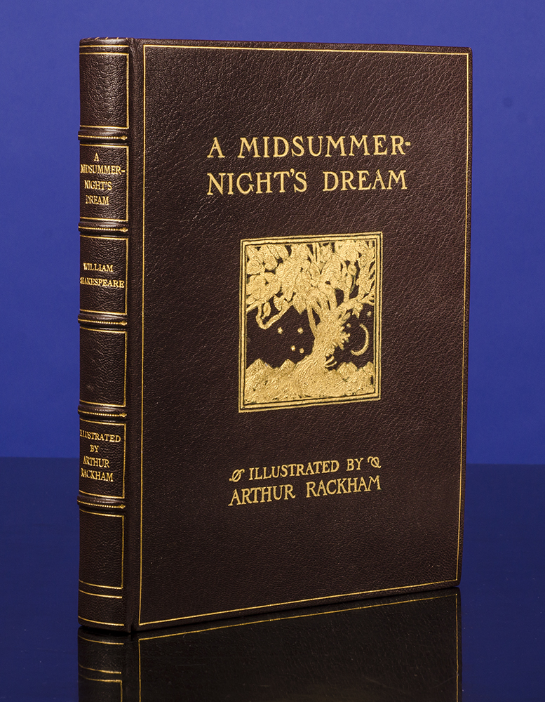 RACKHAM, ARTHUR; SHAKESPEARE, WILLIAM; SANGORSKI & SUTCLIFFE, BINDER - Midsummer Night's Dream, A.