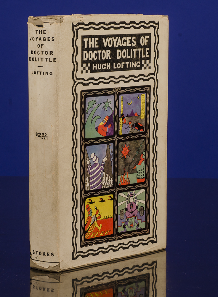 LOFTING, HUGH - Voyages of Doctor Dolittle, the