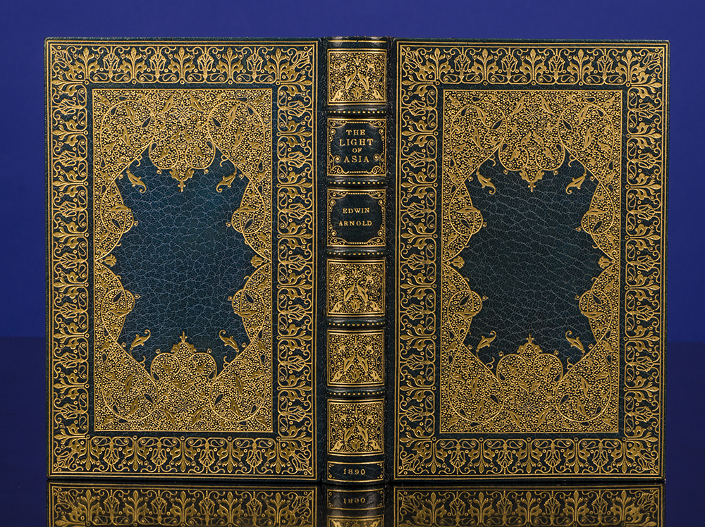 RIVIÈRE & SON, BINDERS; ARNOLD, SIR EDWIN - Light of Asia, the
