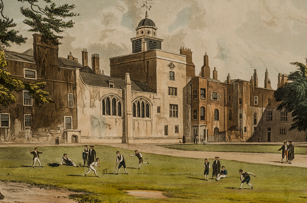 ACKERMANN, RUDOLPH, PUBLISHER; PUGIN, AUGUSTUS CHARLES, ARTIST - The History of the Colleges of Winchester, Eton, and Westminster;