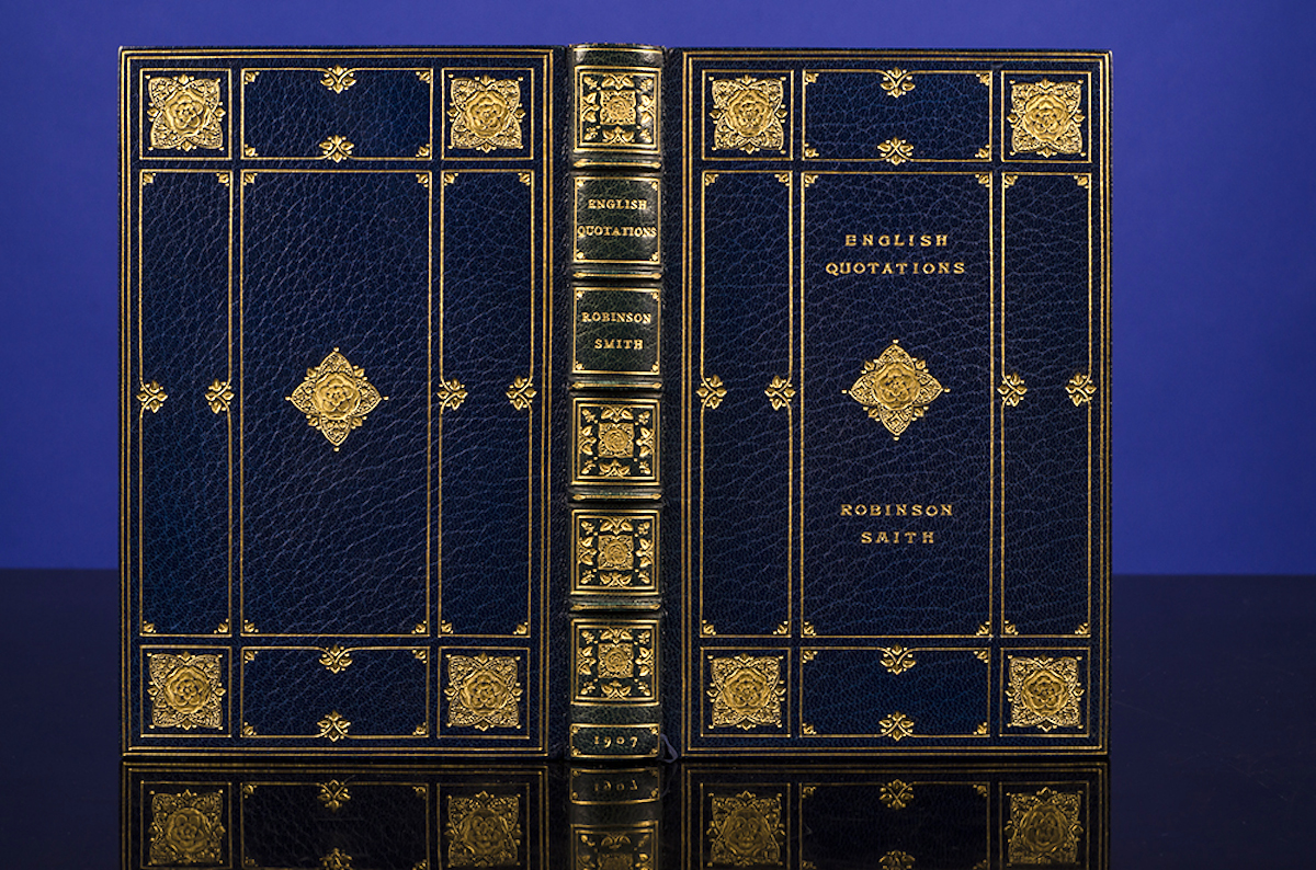 ROOT & SON, BINDERS; SMITH, ROBINSON - English Quotations