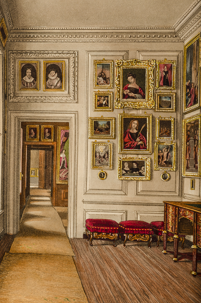 PYNE, W[ILLIAM] H[ENRY] - History of the Royal Residences, the