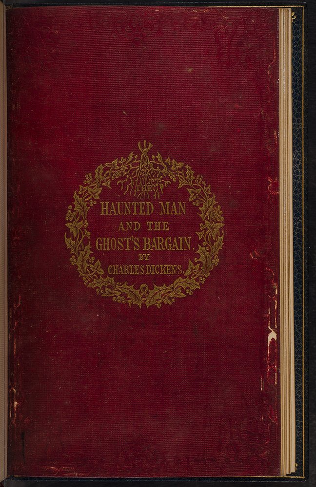 A Christmas Carol Book.A Christmas Carol The Chimes The Cricket On The Hearth The Battle Of Life The Haunted Man By Charles Dickens Root Binders Son On David Brass