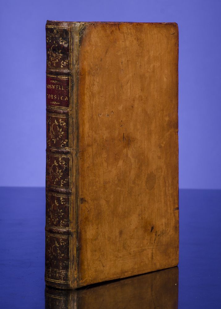 Account of Corsica, An. James BOSWELL, Robert Foulis, Andrew Foulis.
